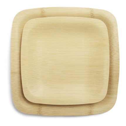 Bambu Veneerware Bamboo Disposable Plates