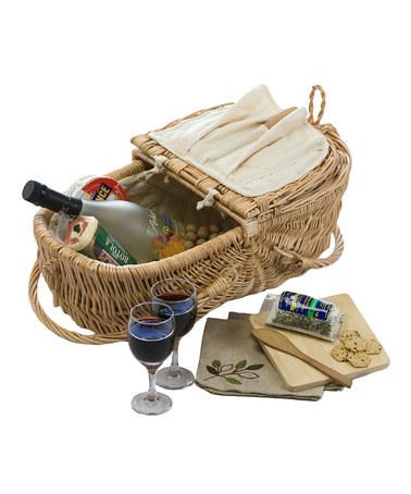 Natural Eco Picnic Basket