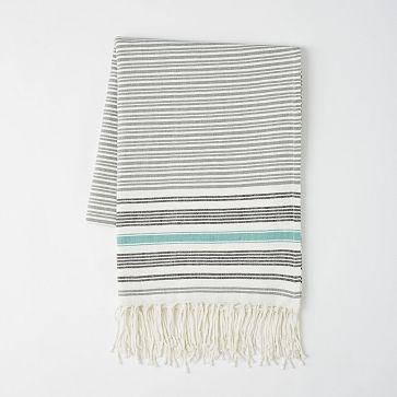 West Elm Tassled Picnic Blanket