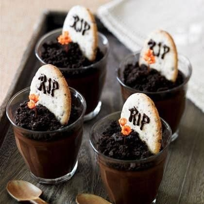 grave yard pudding