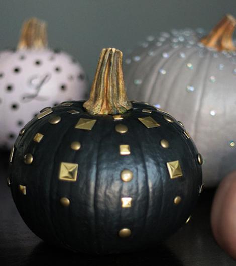 Edgy Chic Pumpkin