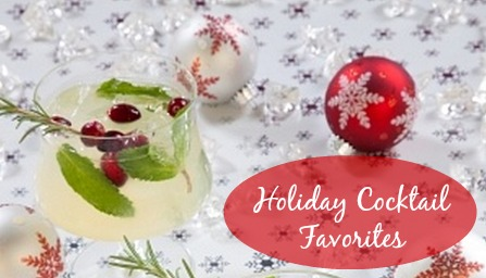 Holiday Cocktail Favorites