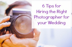 6 Tips for Hiring the Right Photographer for your Wedding2