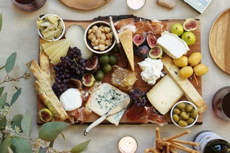 fall cheese plate