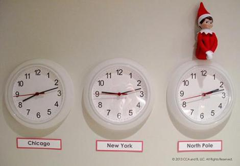 Office Elf Clocks