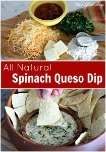 spinach queso dip