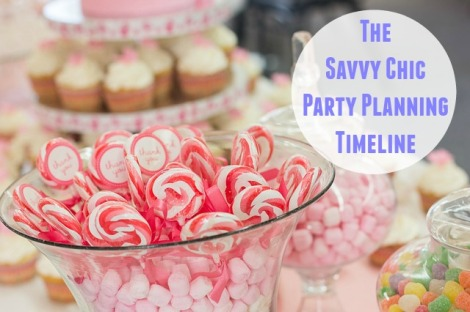 The Savvy Chic Party Planning Timeline