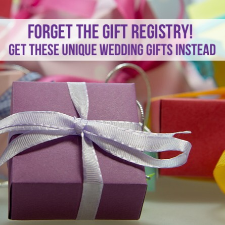 Unique Wedding Gifts that are a Must!