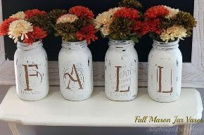 diy fall vases