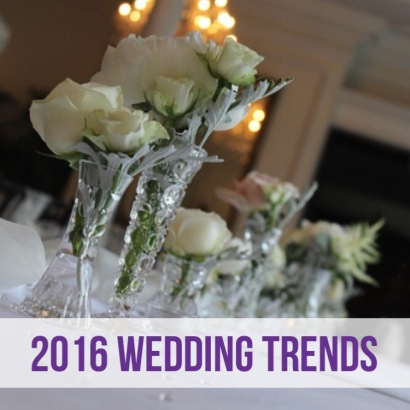 2016 Wedding Trends to Look Out For